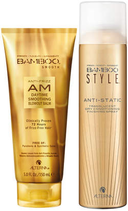 Alterna Bamboo Style Dry Finishing Spray and AM Daytime Smoothing Blowoout Balm Duo (Worth 45)