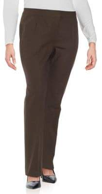 Lafayette 148 New York Barrow Textured Cotton-Blend Pants