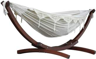Vivere Cotton Hammock Chair With Stand