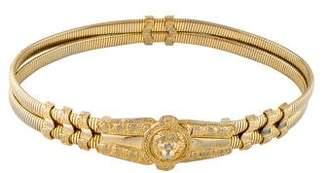 Judith Leiber Metal Waist Belt