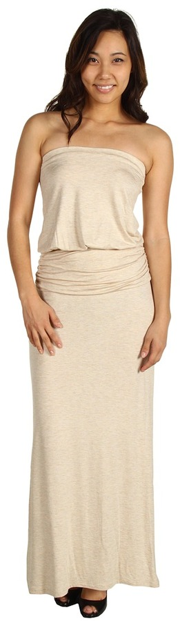 Brigitte Bailey Evony Strapless Maxi Dress (Cream) - Apparel