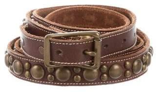 Ralph Lauren Studded Wrap-Around Belt