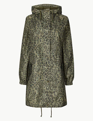 Marks and Spencer Animal Print Pack Away Parka