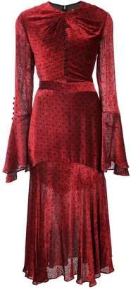 Prabal Gurung keyhole twist dress
