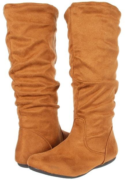 Christin Michaels - Latasha (Cognac Micro Suede) - Footwear