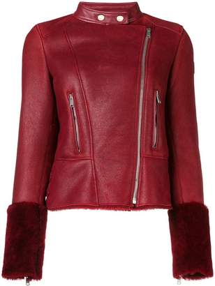 Belstaff shearling lined jacket