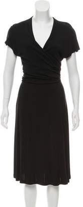 Salvatore Ferragamo Midi Knit Dress