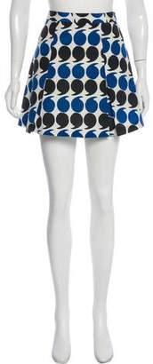 Boy By Band Of Outsiders Silk Polka Dot Skirt w/ Tags