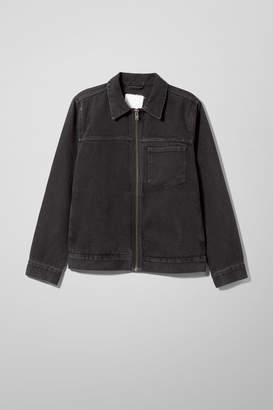 Weekday Core Re-made Denim Jacket - Black