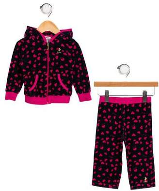 Juicy Couture Girls' Printed Track Set
