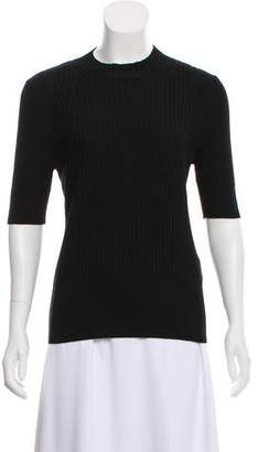 Maison Margiela Wool Rib Knit Top