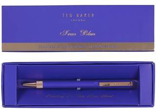 Ted Baker Electric Blue Sapphire Premium Ballpoint Pen