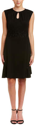Nanette Lepore Nanette Nanette By Lace Sleeve Sheath Dress