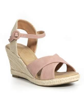 205c85efd5c5 Catherine Malandrino Endy Ankle Strap Espadrille Wedge Sandal