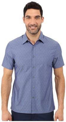 Perry Ellis Irridescent Diamond Jacquard Shirt $39.99 thestylecure.com