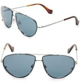 Balenciaga 76MM Tinted Aviator Sunglasses