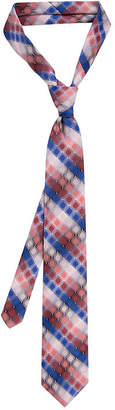 Van Heusen Tie Right Tonal Plaid Tie