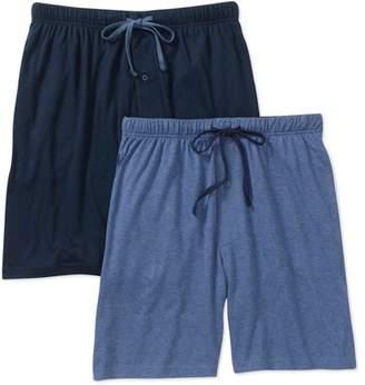 Hanes Men's 2 Pack Knit Shorts
