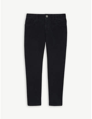 Gucci Logo-patch cotton-blend corduroy trousers 4-12 years