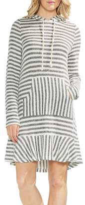Vince Camuto Stripe Sweatshirt Dress