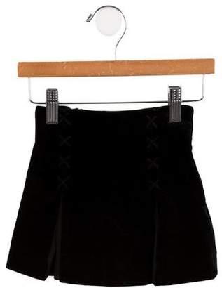 Versace Girls' Velvet Skirt