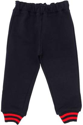Gucci Cotton Sweatpants W/ Web Detail