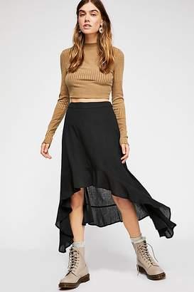 Kas Gauzy Flounce Skirt