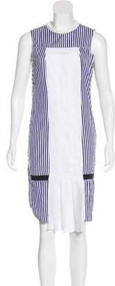 J.W.Anderson Sleeveless Striped Dress