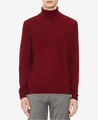 Calvin Klein Men's Solid Turtleneck