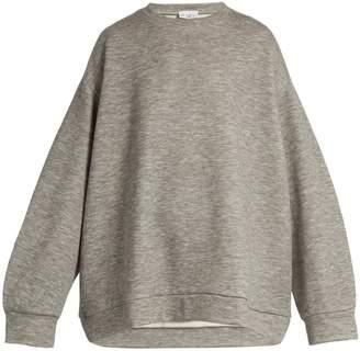 Raey Crew-neck cashmere-blend sweatshirt