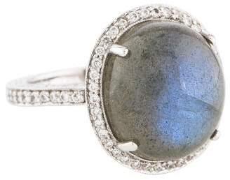 Penny Preville 18K Labradorite & Diamond Cocktail Ring