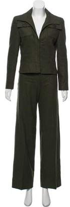 Valentino Structured Wool Pantsuit