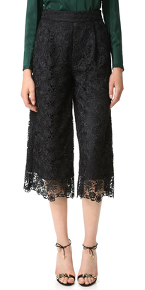Diane von Furstenberg DVF Holly Lace Pants $428 thestylecure.com