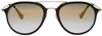 Ray-Ban Black and Gold RB4253 Sunglasses
