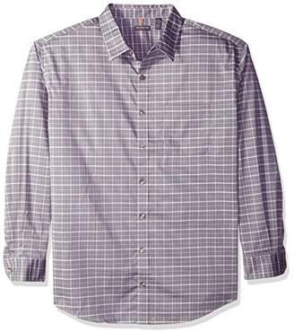 Van Heusen Men's Size Big Traveler Stretch Long Sleeve Non Iron Shirt