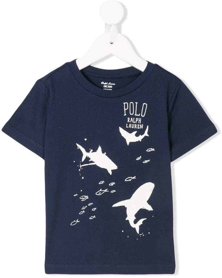 shark printed T-shirt