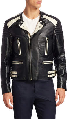 Maison Margiela Leather Biker Jacket