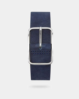 Ted Baker ESCOBAR Nubuck leather belt