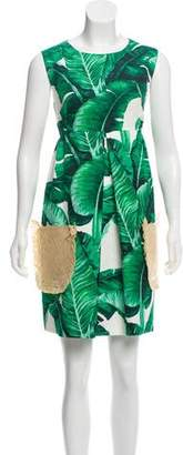 Dolce & Gabbana 2016 Banana Leaf Dress w/ Tags
