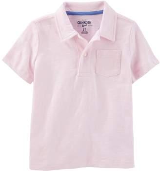 Osh Kosh Oshkosh Bgosh Boys 4-12 Pocket Polo