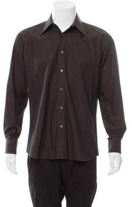 Gucci French Cuff Button-Up Shirt