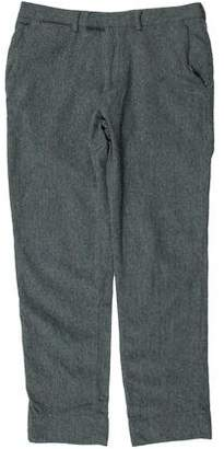 Calvin Klein Collection Woven Wool Pants