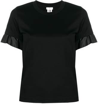 Comme des Garcons satin trim T-shirt