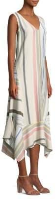 Lafayette 148 New York Isla Striped Maxi Dress