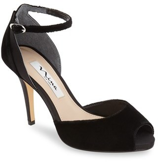 Nina 'Rimma' Open Toe d'Orsay Sandal (Women) $88.95 thestylecure.com