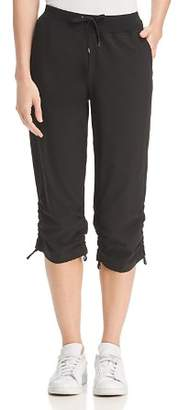 Andrew Marc Commuter Side-Tie Cropped Lounge Pants