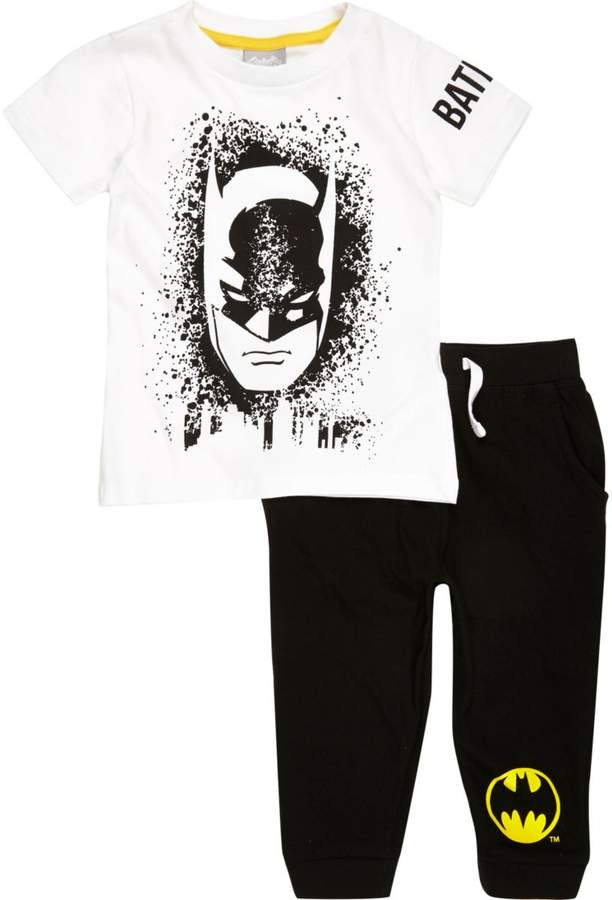 Buy Mini boys Black Batman pyjama set!