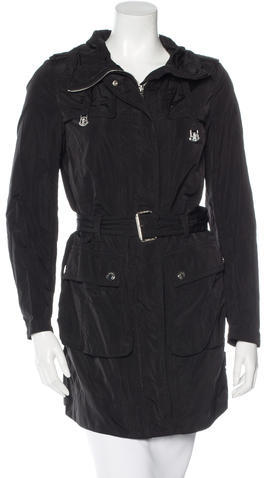 MonclerMoncler Belted Knee-Length Coat