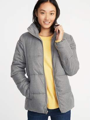 Old Navy Frost-Free Heathered Jacket for Women