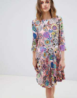 Paul Smith Ps PS by Enso Floral Pleat Dress